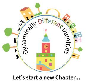 Dynamically Different Dumfries Logo